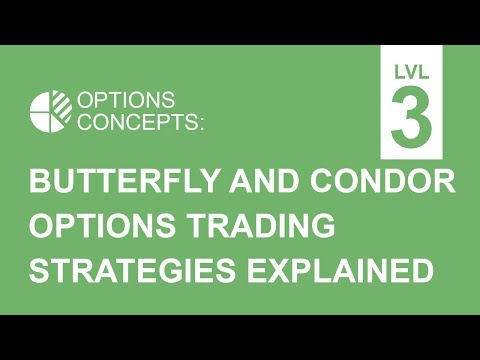 Butterfly Options and Condor Options Trading Strategies Explained