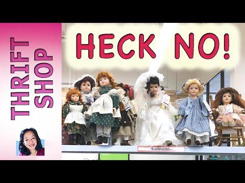 Porcelain Dolls - Thrift Shop Skip R320