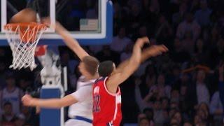 Kristaps Porzingis With The MONSTER Putback Slam | 01.19.17