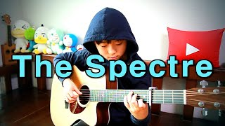The Spectre (Alan Walker) fingerstyle guitar arranged & cover by 10-year-old kid Sean Song