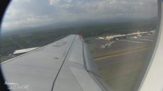 my trip from el salvador to bogota colombia avianca a319 n422av