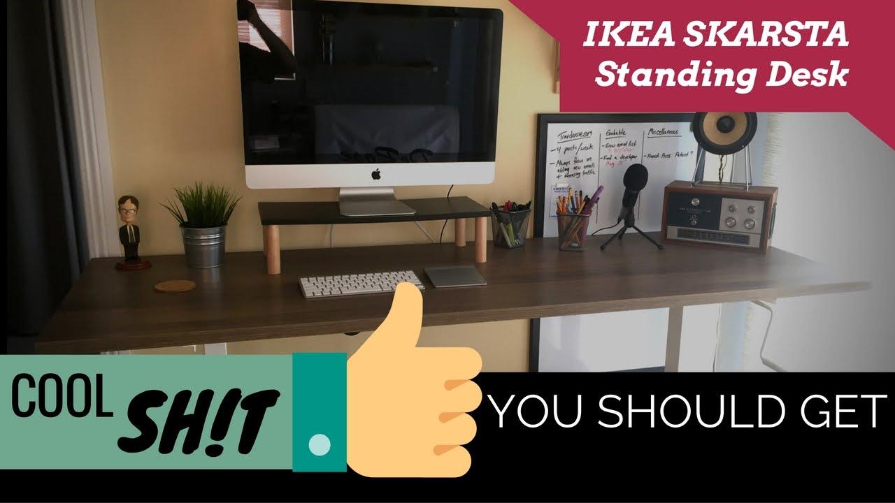 Ikea Skarsta Sit Stand Desk Review Cool Sh T You Should Get