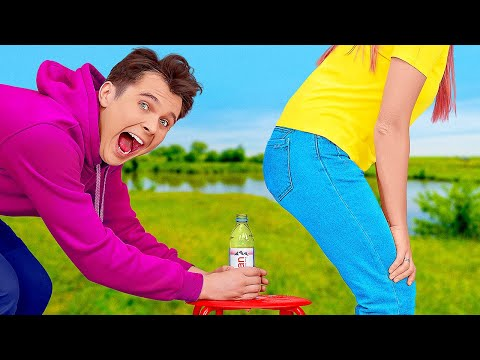 BEST FUNNY PRANKS ON FRIENDS || Relatable Problems and DIY Summer Pranks for BFF by 123 GO! SCHOOL