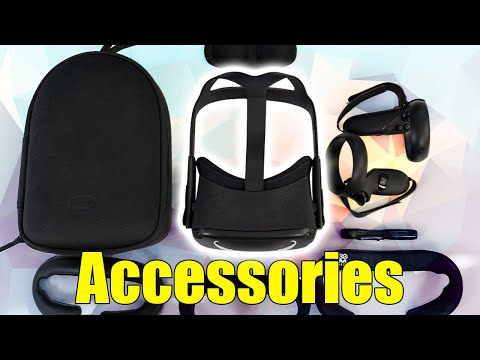 Oculus Quest Accessories  YOU NEED!  -Best Travel Case - Knuckle Strap