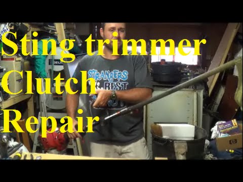 how to fix lawn trimmer