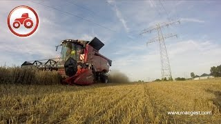 Case IH Combines Axial-Flow NEW - Germany 2015 pre #Agritechnica [HD]