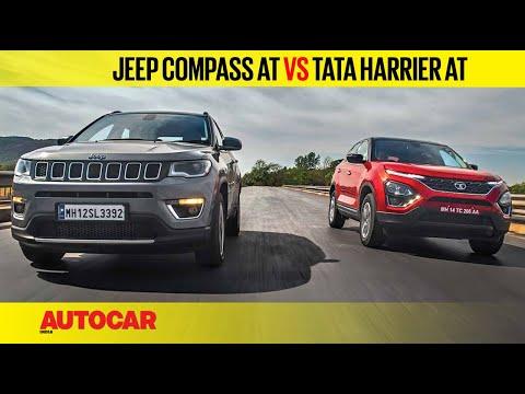 Tata Harrier Automatic vs Jeep Compass | Comparison Test Review | Autocar India