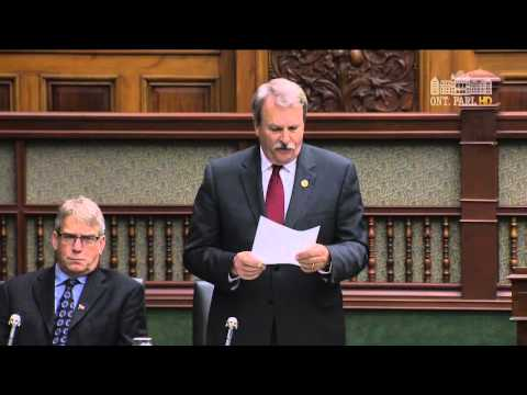 Jack MacLaren MPP - Tamil Remembrance Day Statement, November 26, 2015