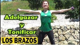 EJERCICIOS PARA ADELGAZAR Y TONIFICAR LOS BRAZOS RAPIDO | Reducir espalda y brazos en 9 minutos