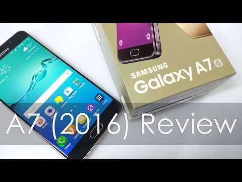 Samsung Galaxy A7 2016 Review an Expensive Mid Ranger