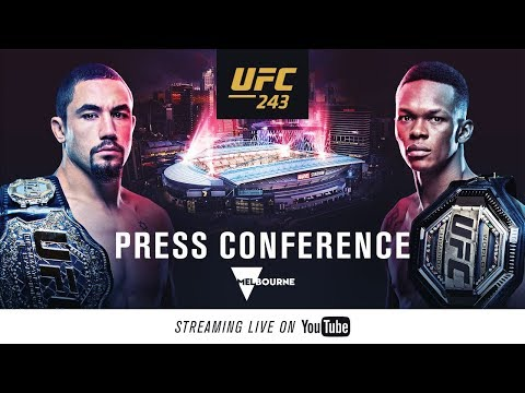 UFC 243: Press Conference