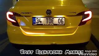 Fiat Aegea Bagaj Altı Kayar LED uygulaması