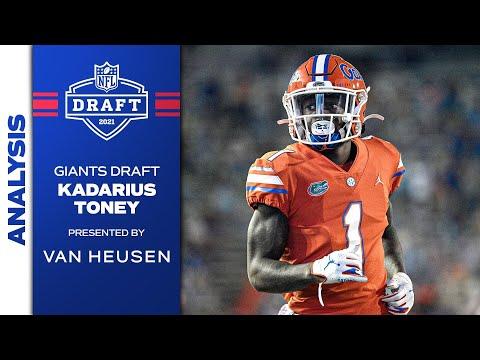 Giants Draft WR Kadarius Toney: Analysis & Interviews   New York Giants