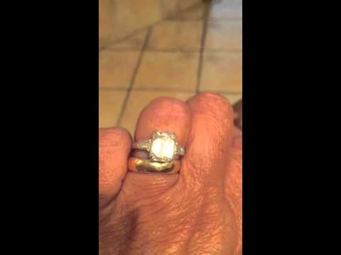 FB EC Moissanite w/Diamond Bullets