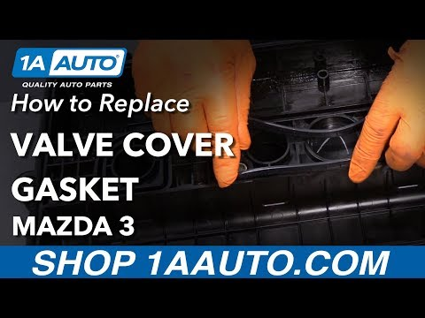 How to Replace Valve Cover Gasket 03-09 Mazda 3