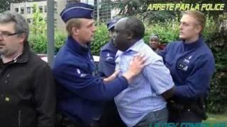 Jean-Paul MOKA Candidat futur président arrêté par la police pour trouble à l