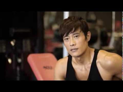Lee Byung Hun GI Joe 2 training  in NOLA