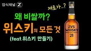 양주(위스키) 원료의 정체 / 위스키 왜이렇게 비싼걸까? (feat.맥주)
