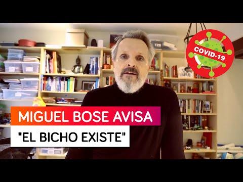 """Miguel Bosé avisa """"El bicho existe y el bicho ha matado a mucha gente"""" - Matiza su anterior mensaje"""