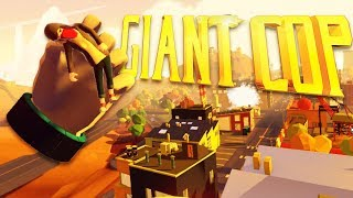 Giant Cop - Arresting the Graffiti Artists! - Giant Cop Gameplay-  HTC Vive VR Game