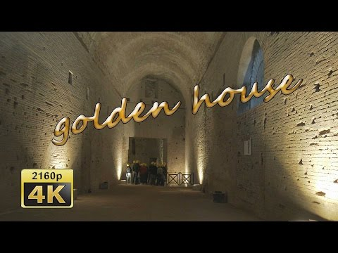 Domus Aurea, The Golden House of Nero, Rome - Italy 4K Travel Channel