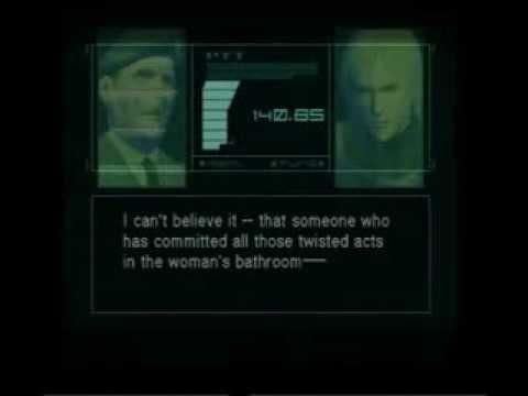 Metal Gear Solid 2 Arsenal Gear Colonel Codec Calls Youtube