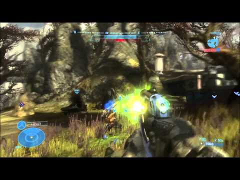 Let's Co-op Halo Reach with Gameovision Staff Part 1 Winter Contingency