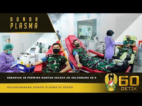 Pendonoran Plasma Perwira Mantan Secapa AD Gelombang 9 Gerakkan Hati Masyarakat untuk Ikut Mendonor
