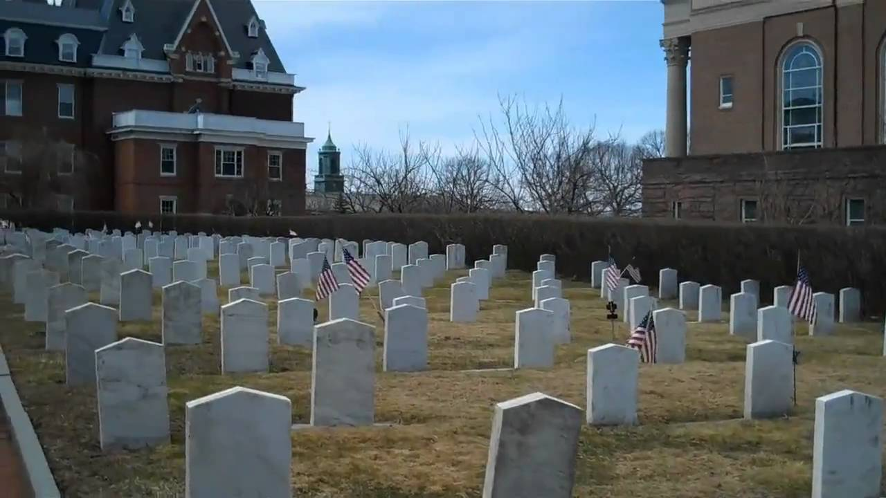 Cemetery at College of the Holy Cross - YouTube