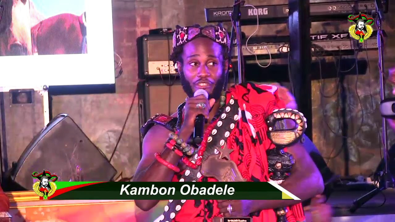 Okunini Ọbádélé Kambon: Nana Marcus Mosiah Garvey Foundation Award