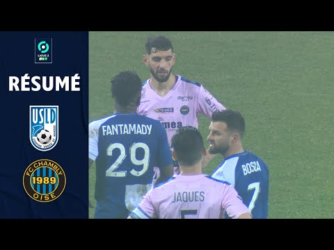 Dunkerque Chambly Goals And Highlights