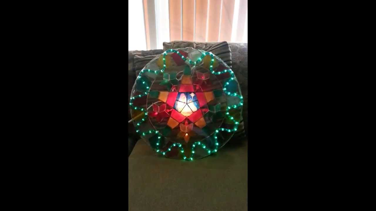 Filipino parol for sale in america - For Sale Stariray Parol Christmas Capiz Lantern 19 Inches Native Christmas Holy Family