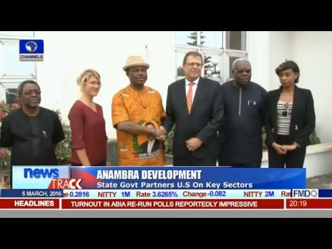 Anambra State Partners U.S. On Key Sectors Towards Development