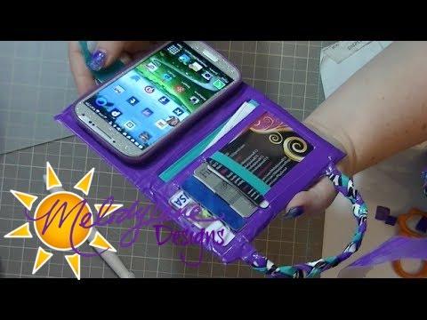 Diy Duck Tape Walletphone Case Youtube