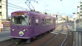 京福電車42 つりかけの音