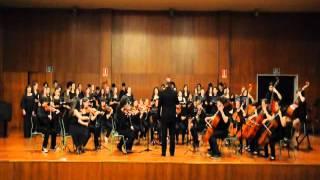 Coro e Orquestra CMUS.OUREN.Concerto Letras Galegas 2012.Himno Galego ..wmv