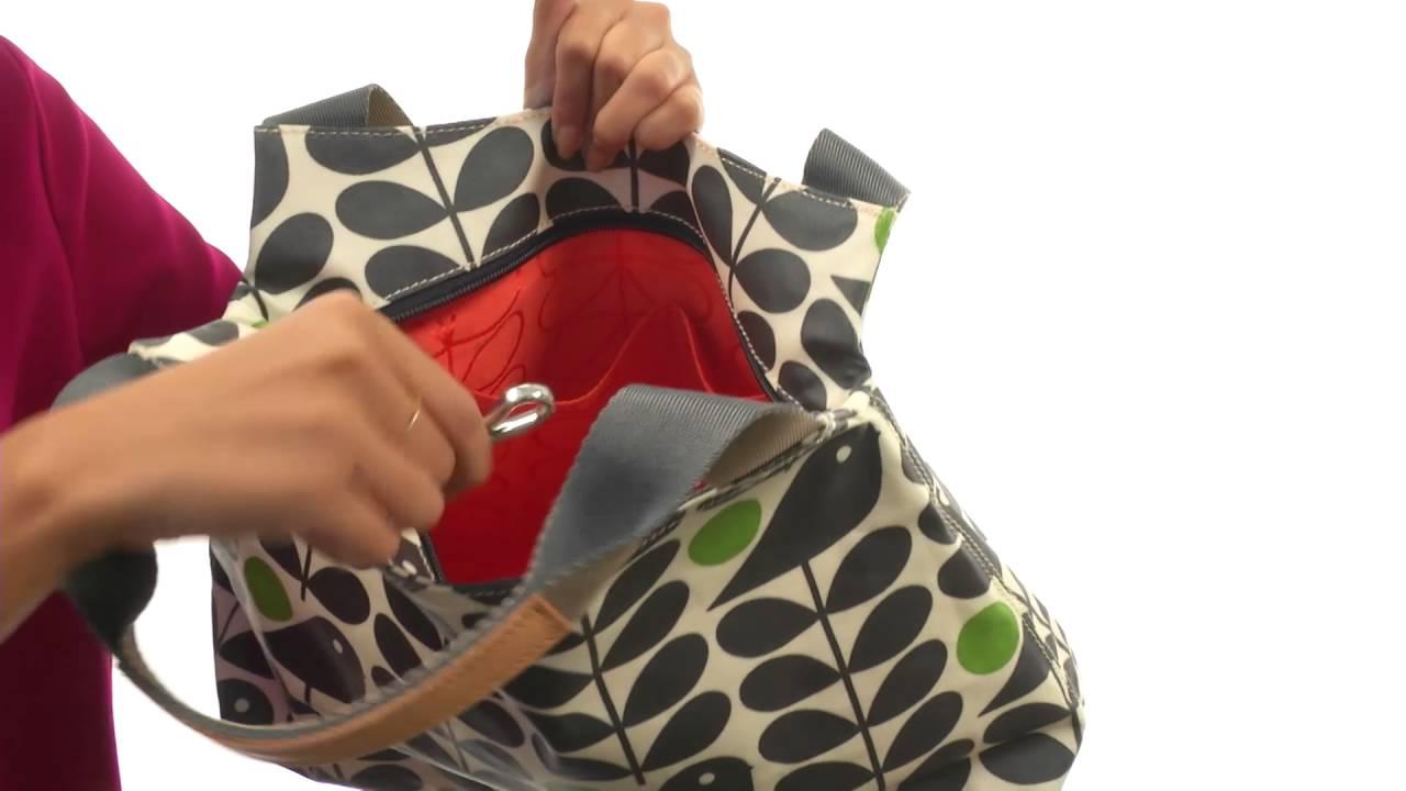 Orla Kiely Early Bird Print Classic Zip Shoulder Bag SKU 8830602 ... e81ec6608104b