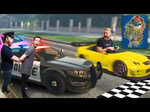 DONT Break ANY Laws While Racing Across The Map! | GTA5
