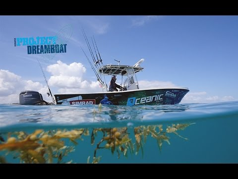 Florida Sportsman Project Dreamboat - Shamrock Mods, Boston Whaler Reveal