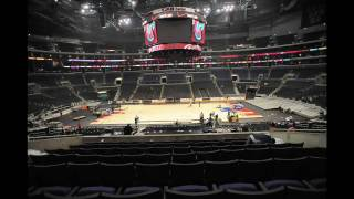 PHOTO TIME-LAPSE OF STAPLES CENTER CHANGEOVER