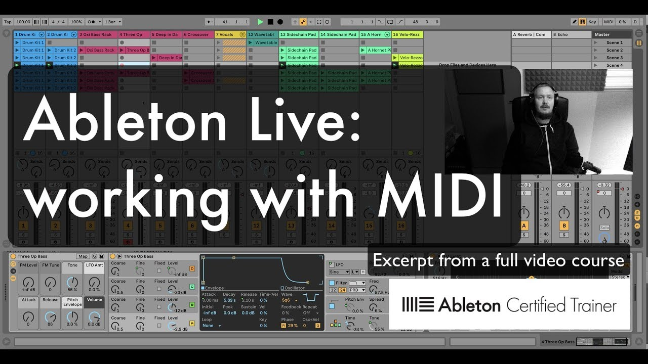Akai MPC Forums - Ableton Live Basics video by yours truly available