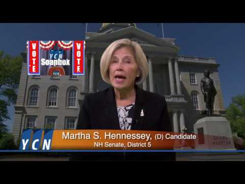 YCN Soapbox: Martha Hennessey, Candidate for NH State Senate in District 5