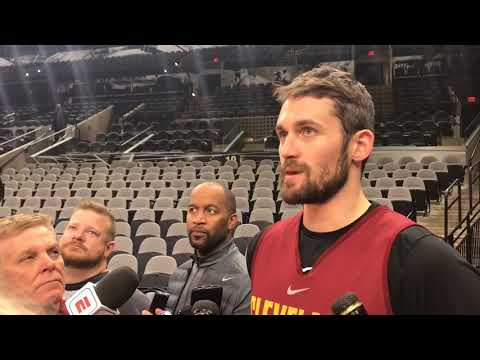 Kevin Love said all Cavs were targets