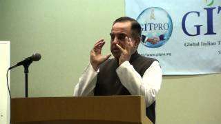 Subramanian Swamy speech on 2G Spectrum Scam in Mountain View, California (Full)