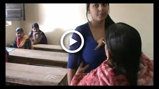 Checking Girl Student Inner Badly ( Worst) at Examination Center