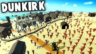 MASSIVE Invasion of DUNKIRK!  Germany vs England (Ancient Warfare 3)