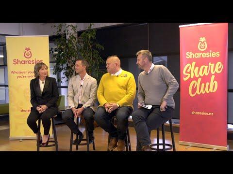 Kiwis' Attitudes To Saving And Investing (Sharesies Share Club, Wellington, October 2019)