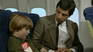 Мистер Бин в самолёте
