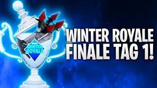 WINTER ROYALE FINALE TAG 1! VERRÜCKT! ❄️🔥 | Fortnite: Battle Royale