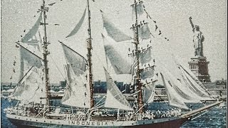 KRI.DEWARUCI OPERATION SAIL 1986